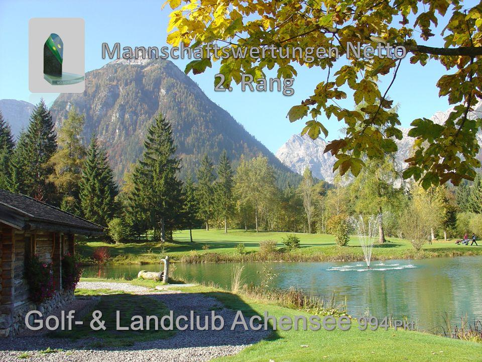 Golf- & Landclub Achensee 994 Pkt