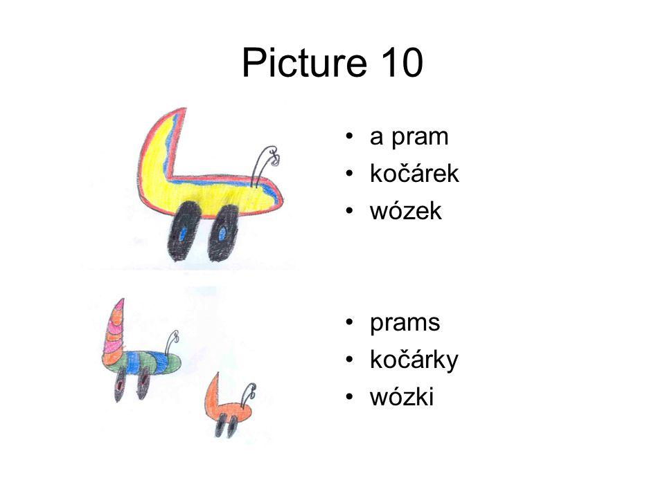 Picture 10 a pram kočárek wózek prams kočárky wózki