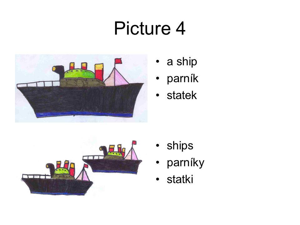 Picture 4 a ship parník statek ships parníky statki