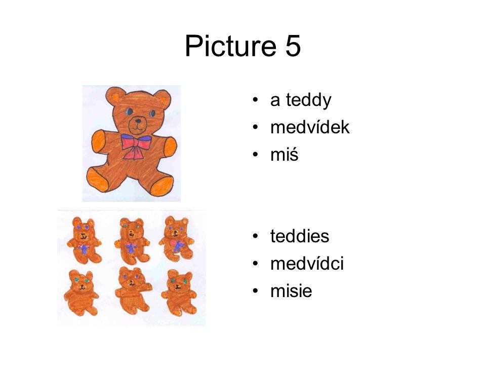 Picture 5 a teddy medvídek miś teddies medvídci misie