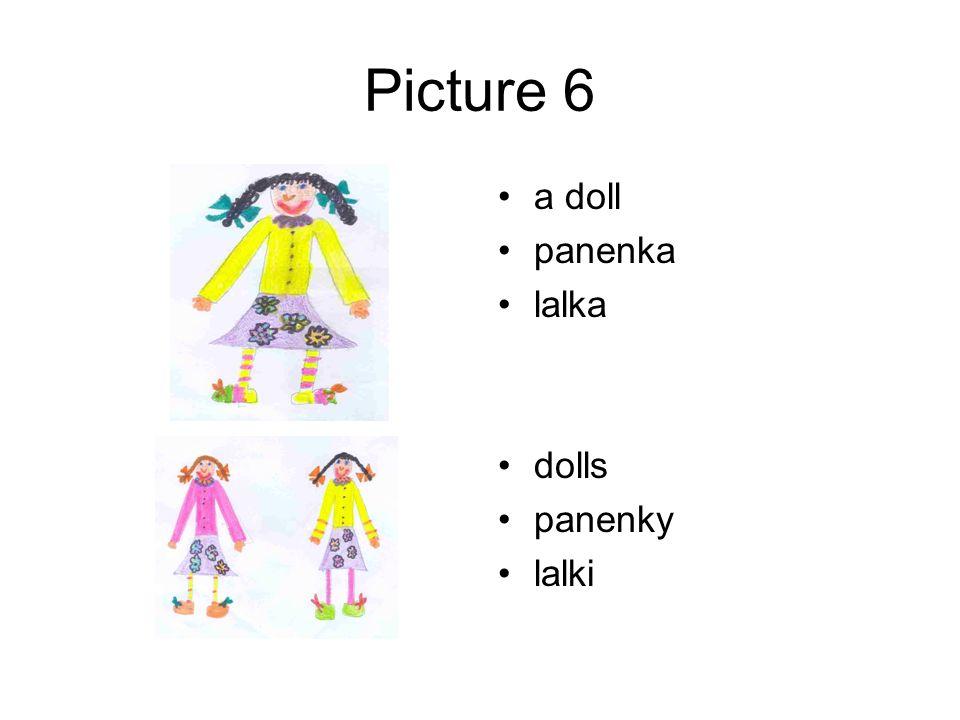 Picture 6 a doll panenka lalka dolls panenky lalki