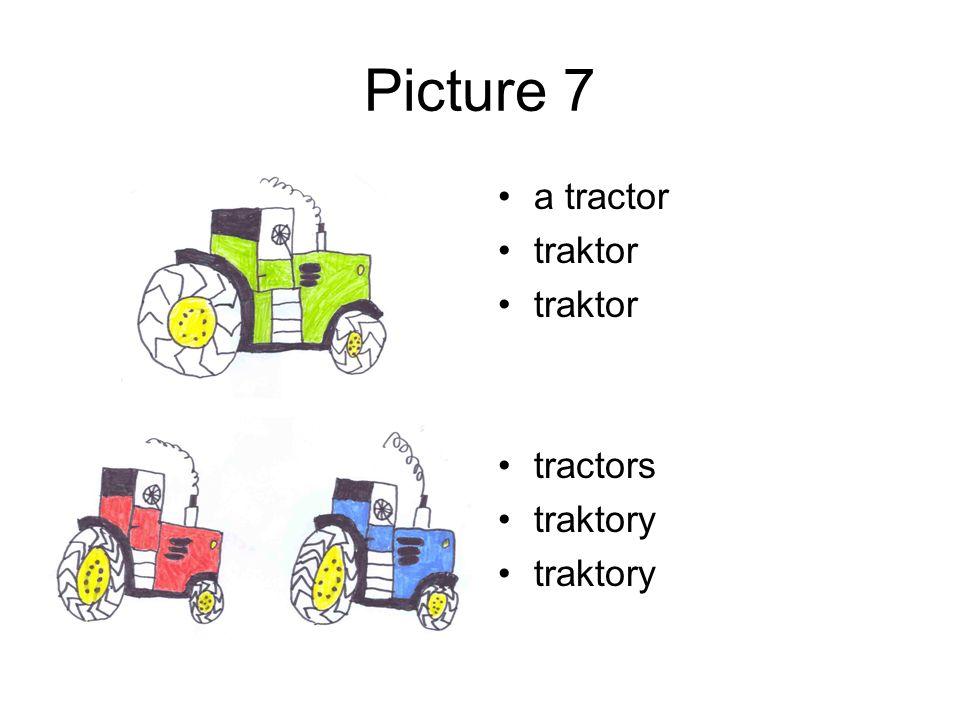 Picture 7 a tractor traktor tractors traktory