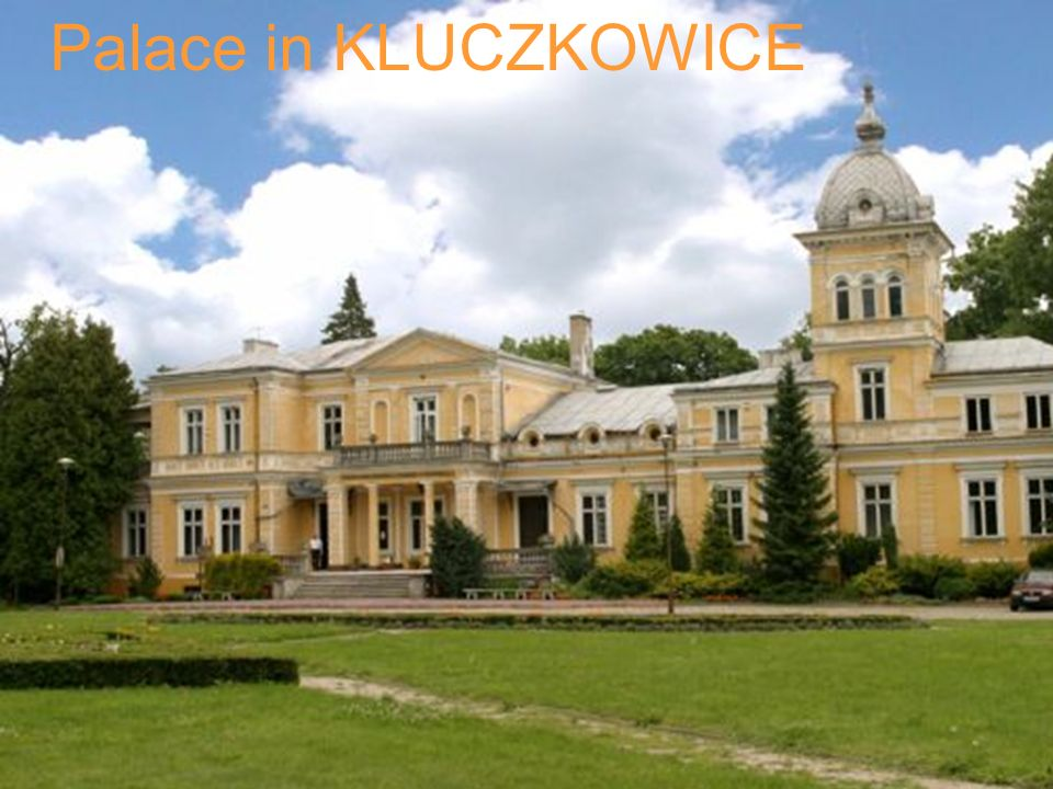 Palace in KLUCZKOWICE