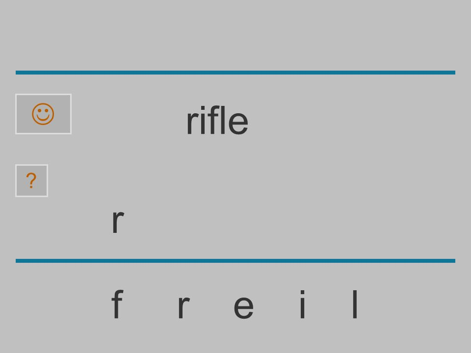 ......................... f r e i l ? rifle