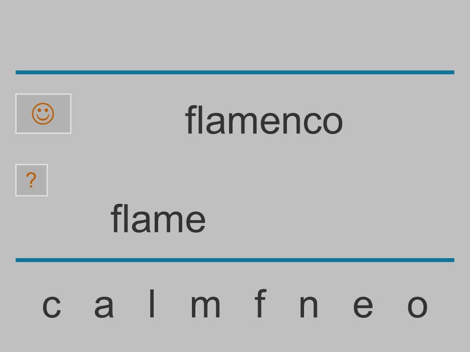 flam c a l m f n e o ? flamenco
