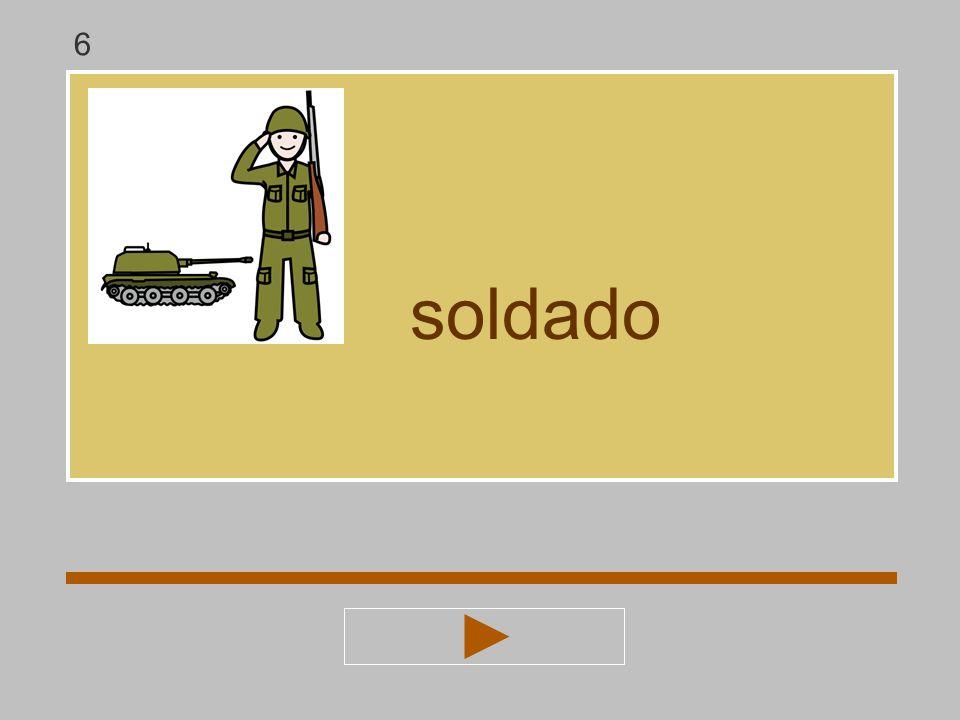 t a s d l á o soldado ? soldad 6