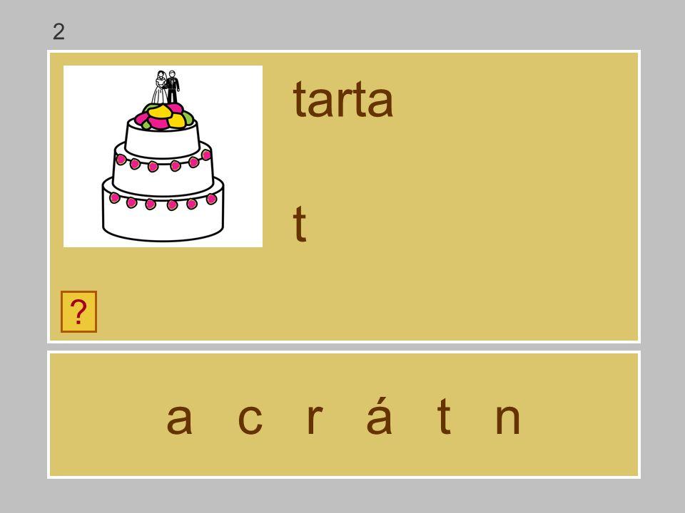 a c r á t n tarta ? … 2