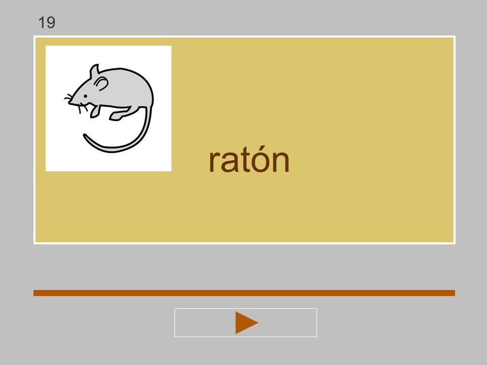 a r t o m n ó ratón ? rató 19