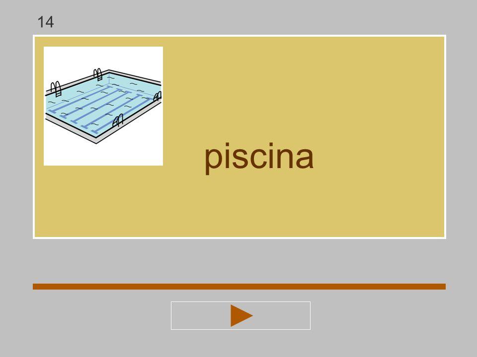 a b i s p z c n piscina ? piscin 14