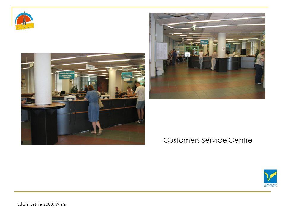 Szkoła Letnia 2008, Wisła Customers Service Centre