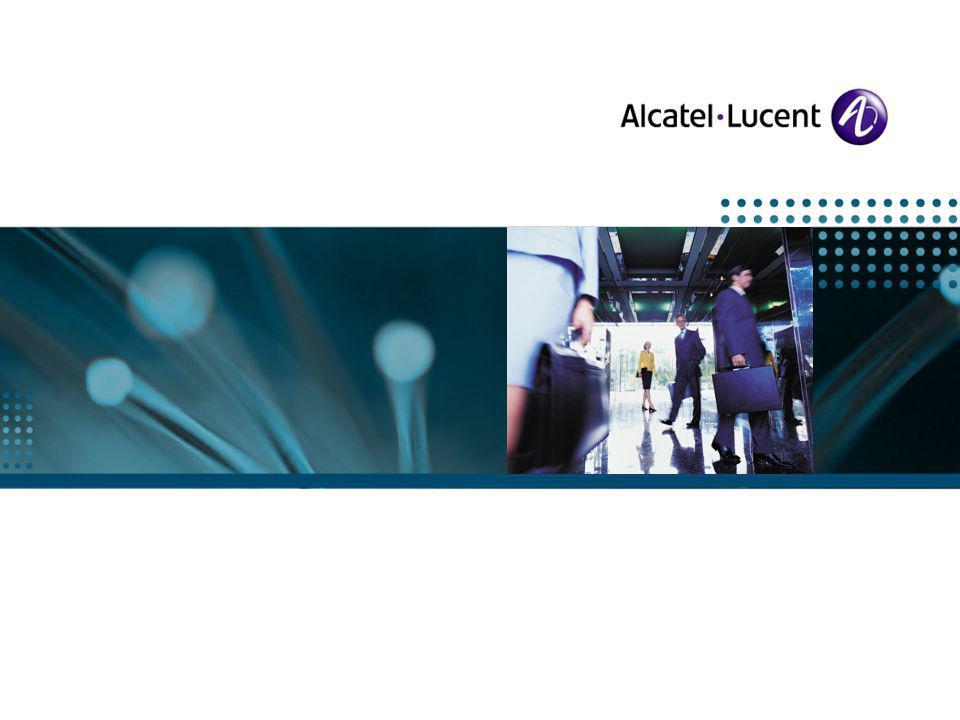 All Rights Reserved © Alcatel-Lucent | Broadband Forum| November 24, rh