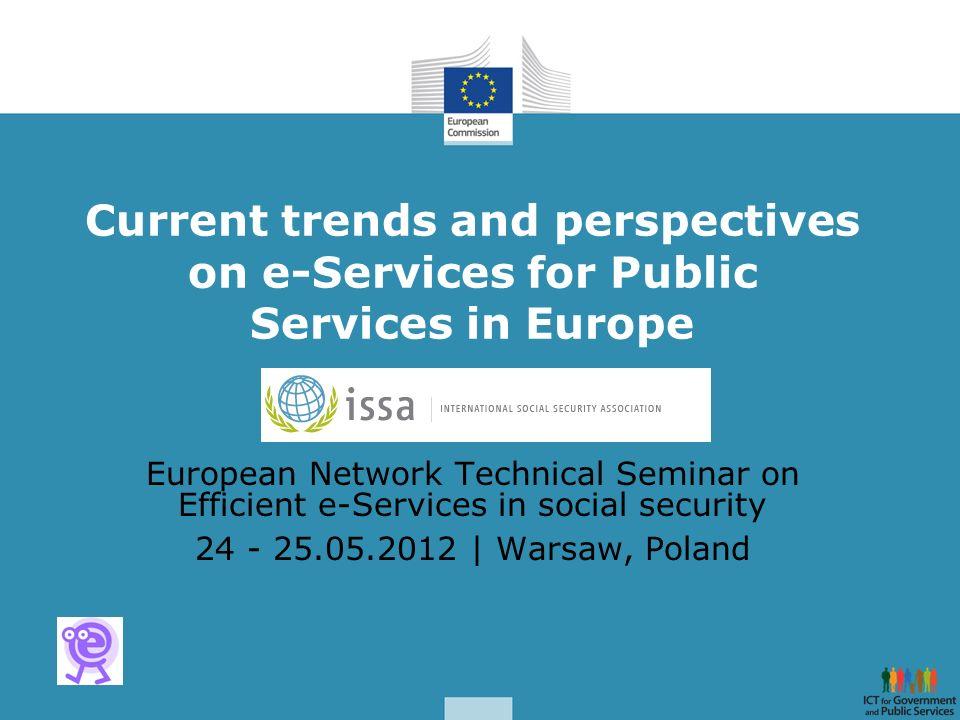 ISSA Seminar- Warsaw May, 24-25 PEPPOL Transport infrastructure