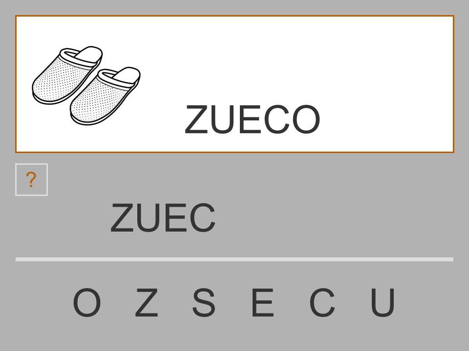 ZUE O Z S E C U ? ZUECO