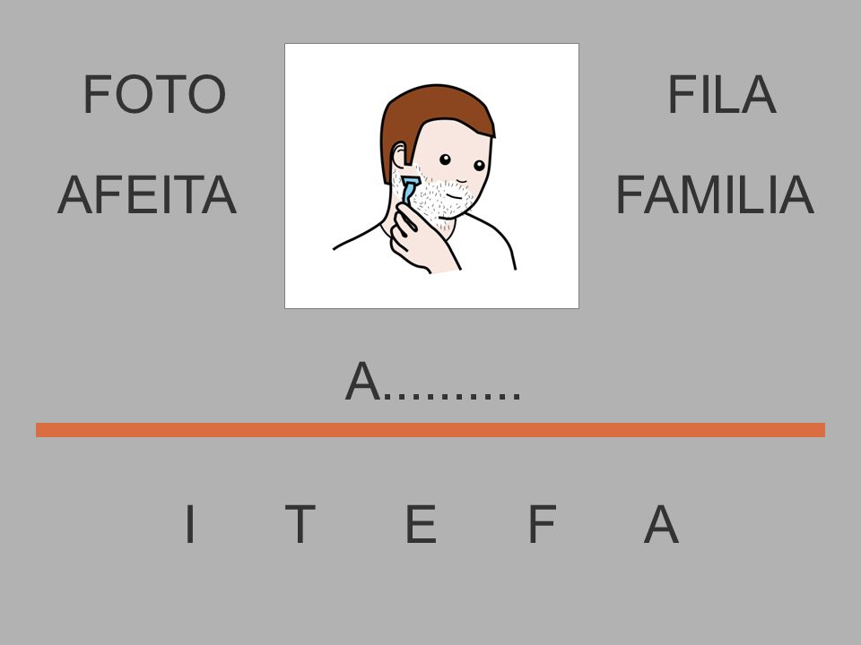 FOTO I T E F A FILA............. AFEITAFAMILIA