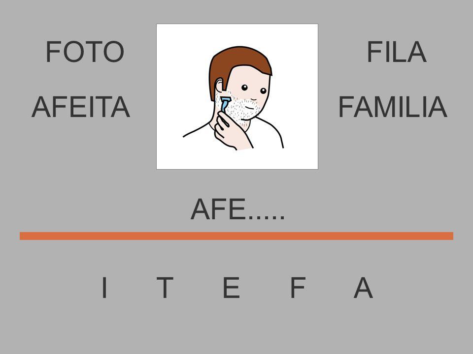 FOTO I T E F A FILA AF....... AFEITAFAMILIA