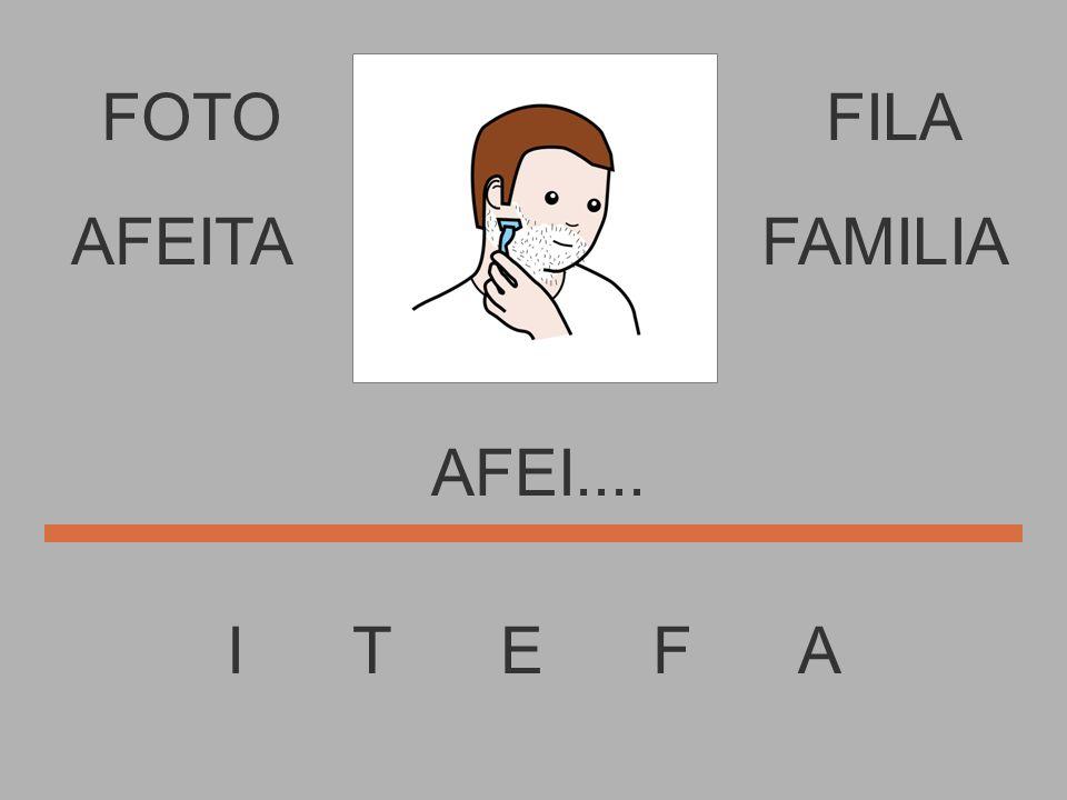FOTO I T E F A FILA AFE..... AFEITAFAMILIA