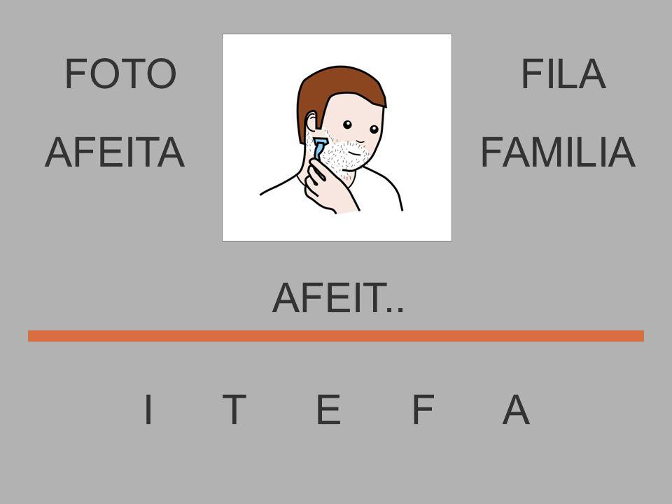 FOTO I T E F A FILA AFEI.... AFEITAFAMILIA