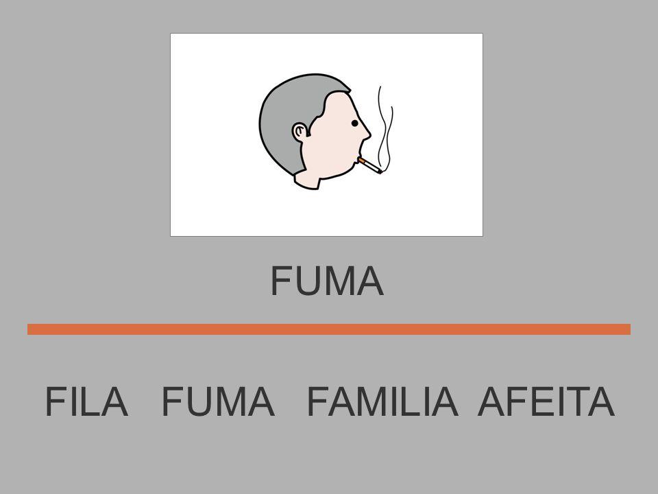 FILA FOTO FUMA FAMILIA FILA