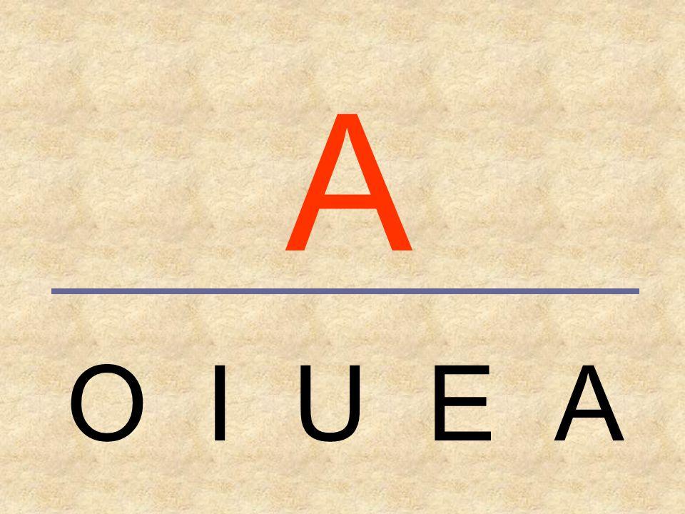 VOCALES_1 Actividades de lectoescritura. Nivel básico. MAYÚSCULAS A E I O U