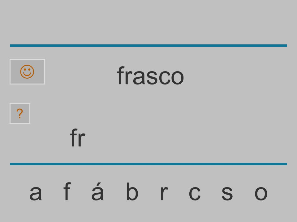 f a f á b r c s o ? frasco
