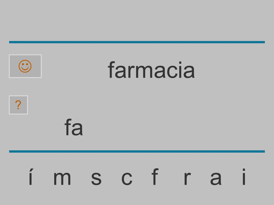 f í m s c f r a i ? farmacia