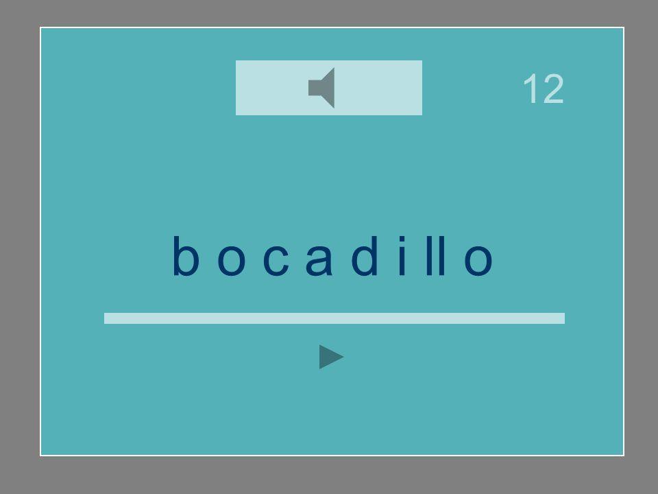 b o c a d i ll o y ll i c a d b v o 12