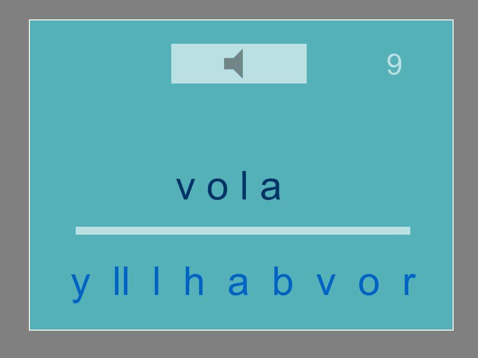 v o l a r y ll l h a b v o r 9