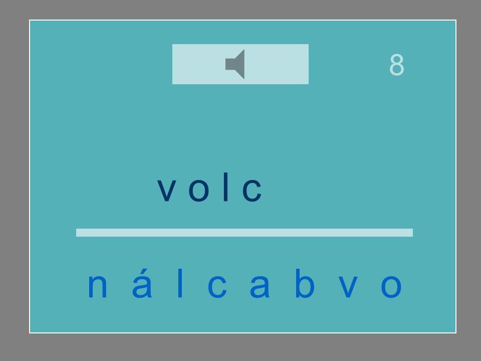 v o l c á n n á l c a b v o 8