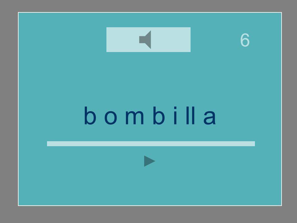 b o m b i ll a y ll i b v a m n o 6