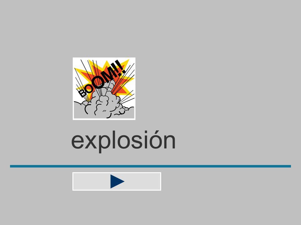 explosió n x e s b o l p i ó ? explosión