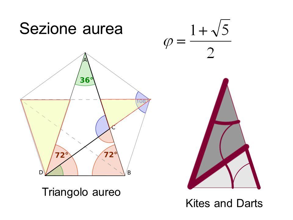 Triangolo aureo Sezione aurea Kites and Darts