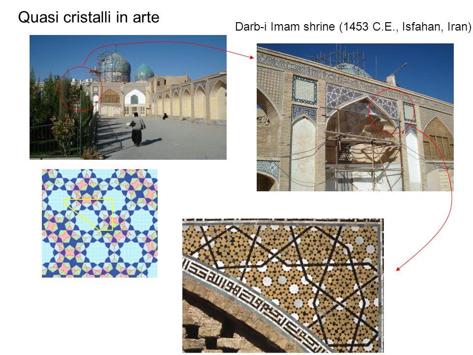Darb-i Imam shrine (1453 C.E., Isfahan, Iran) Quasi cristalli in arte