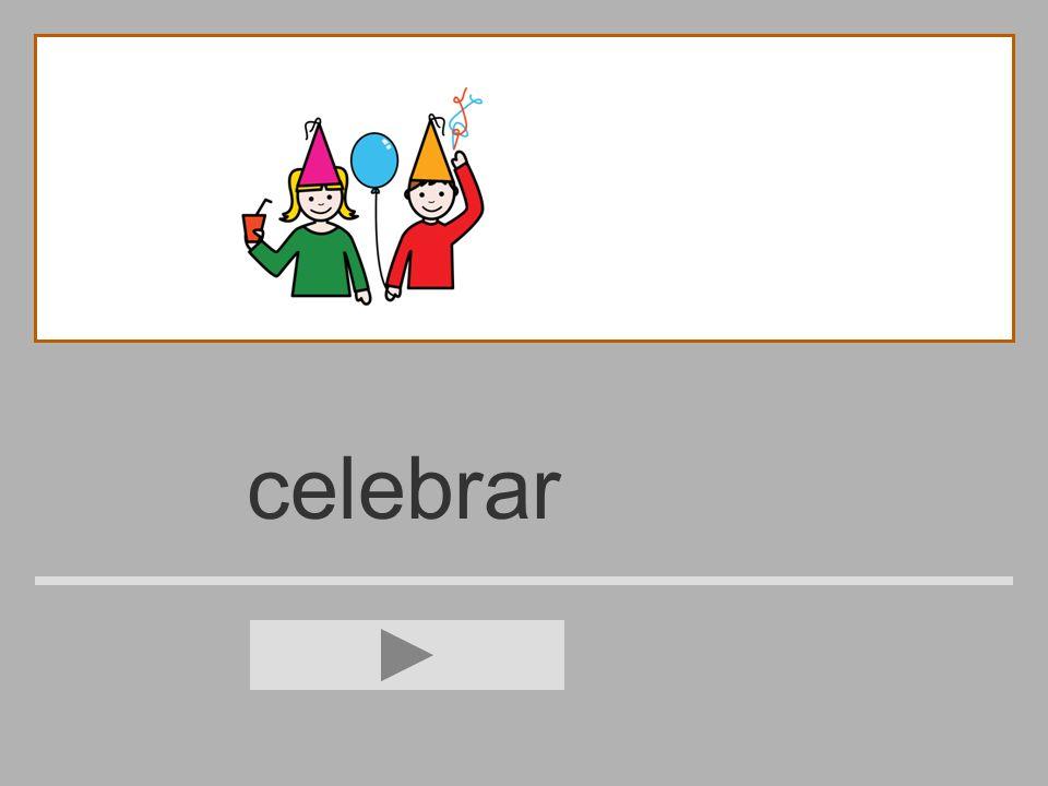 celebra s e l c b d a r celebrar