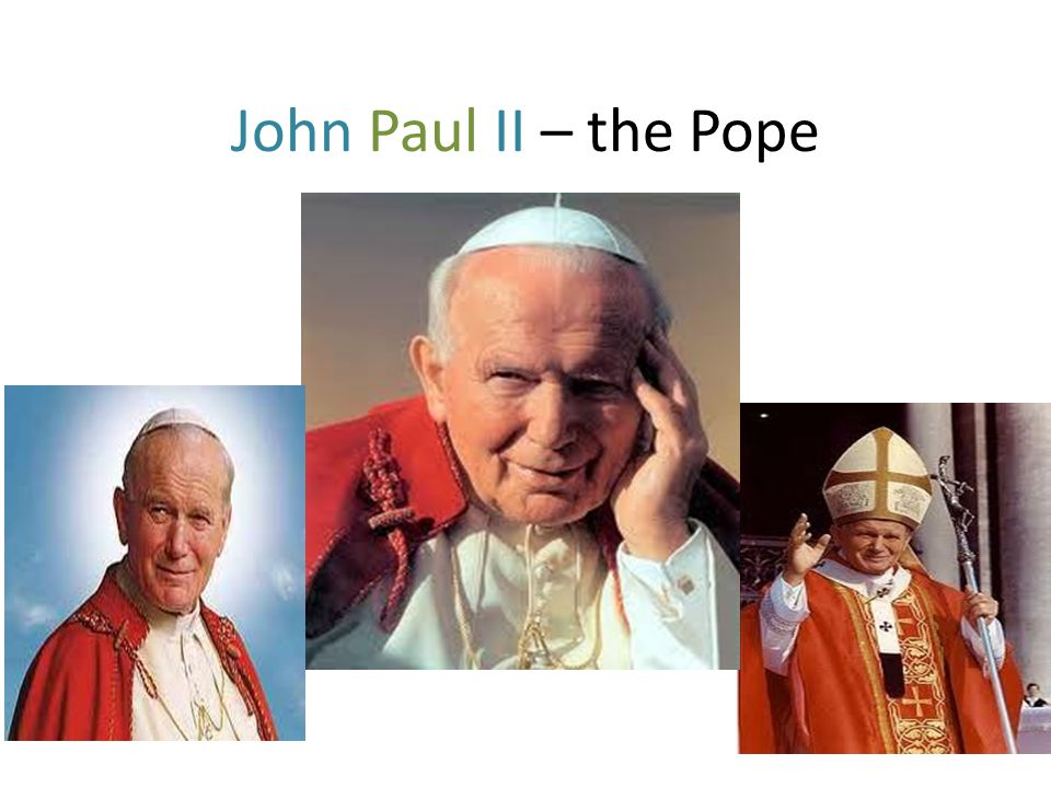 His real name was Karol Wojtyla and he was born in Wadowice on May 18th, 1920.