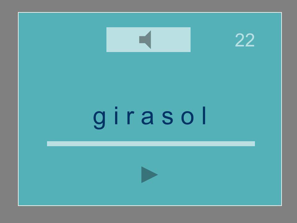g i r a s o l y ll i l a s r o j g 22