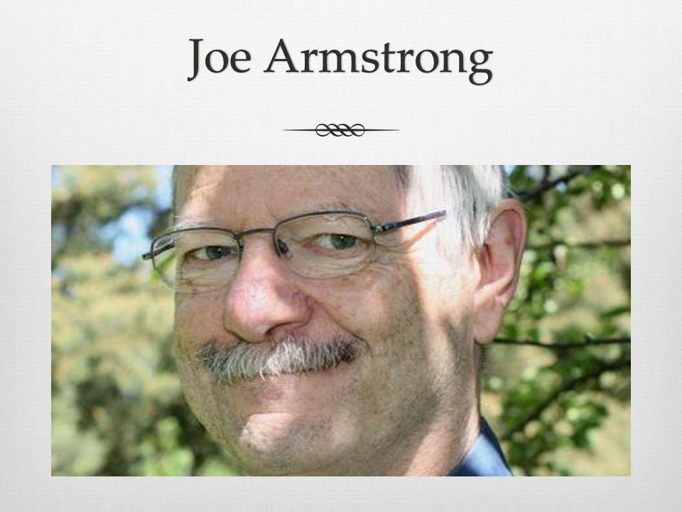 Joe ArmstrongJoe Armstrong