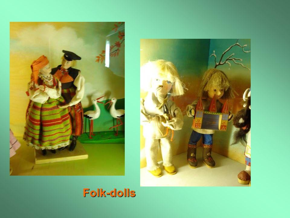 Folk-dolls