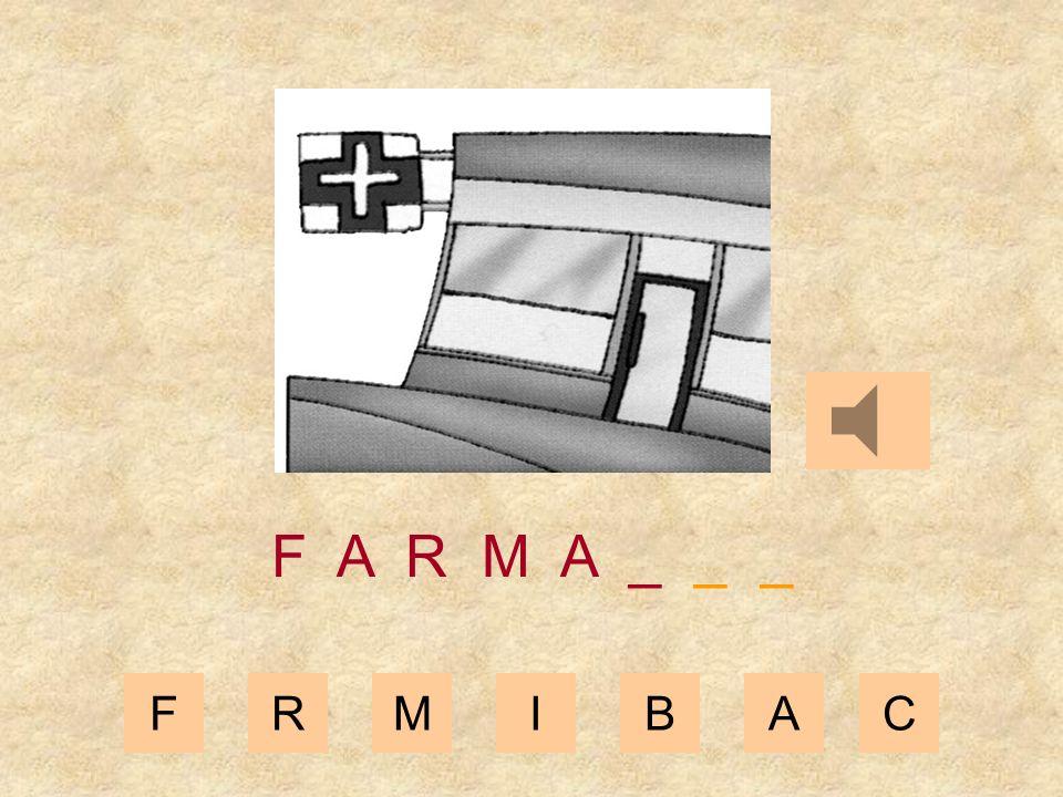 FRMIBAC F A R M _ _ _ _