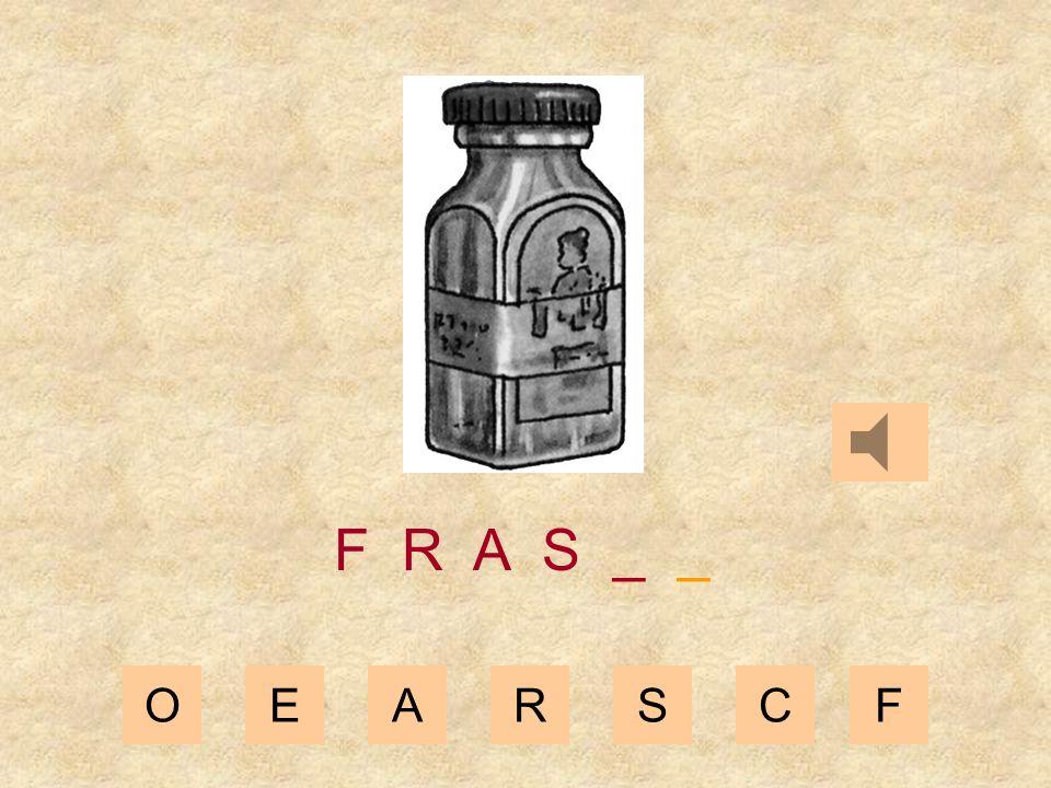 OEARSCF F R A _ _ _