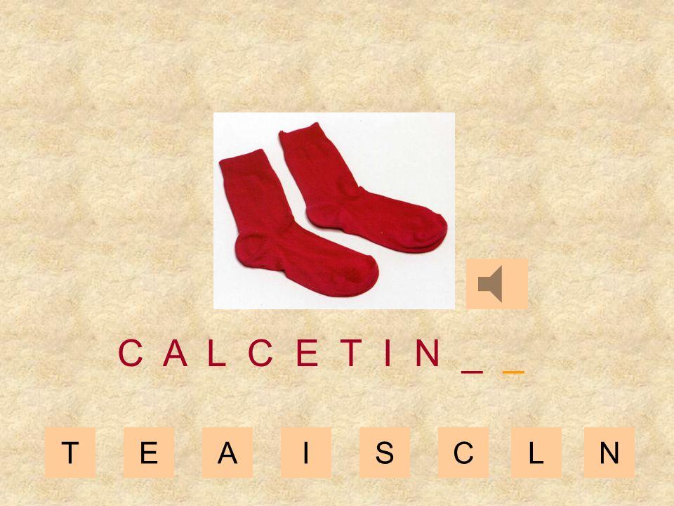 TEAISCL C A L C E T I _ _ _ N