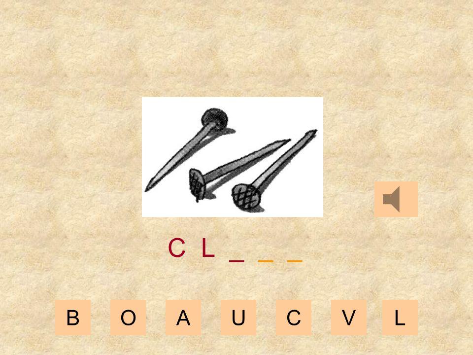 BOAUCVL C _ _ _ _