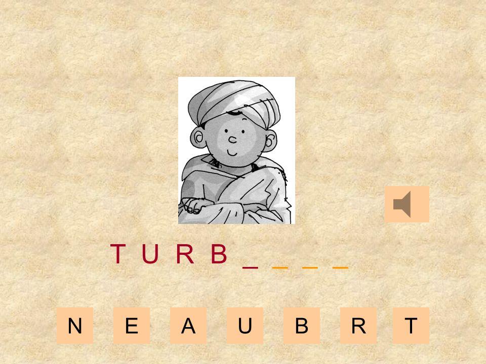 NEAUBRT T U R _ _ _ _ _