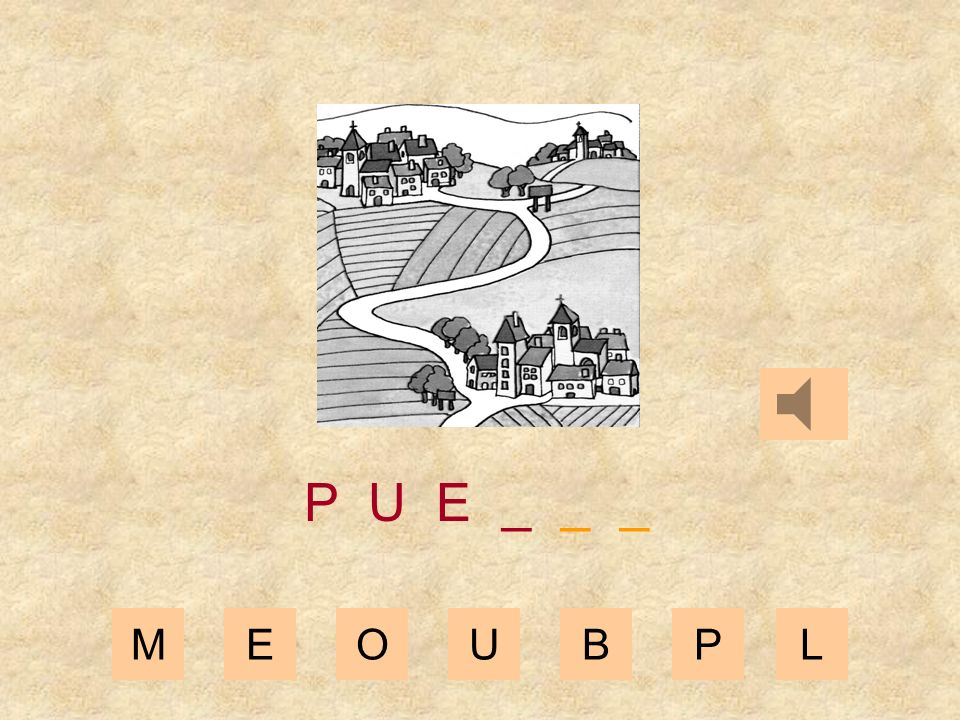 MEOUBPL P U _ _ _ _