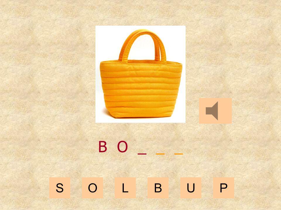 SOLBUP B _ _ _ _