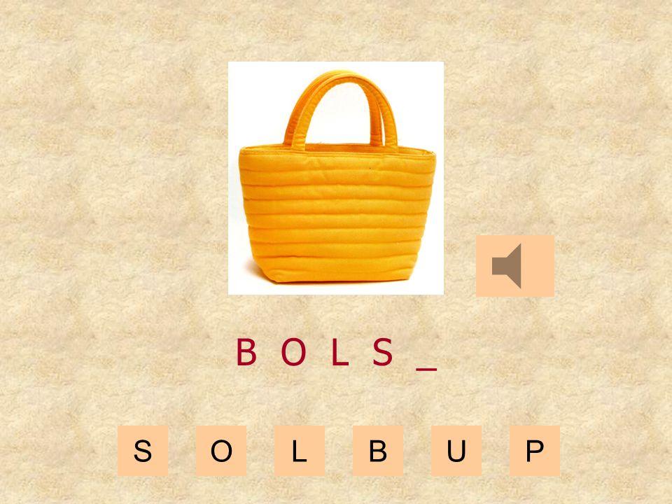 SOLBUP B O L _ _