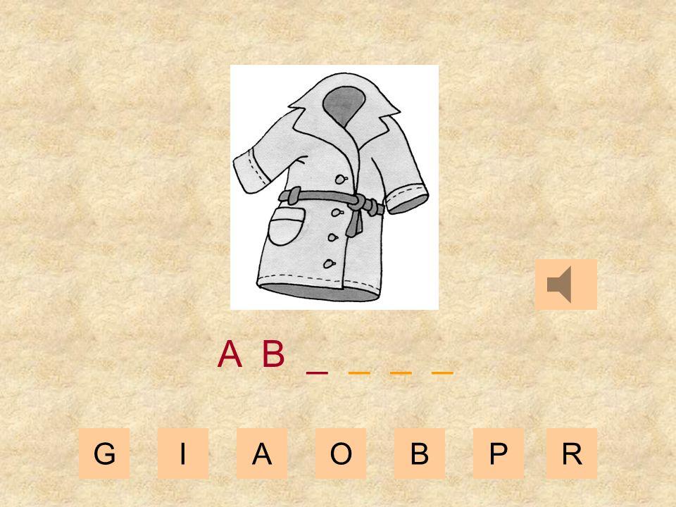 GIAOBPR A _ _ _ _ _