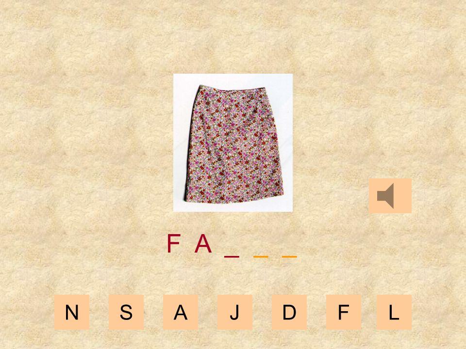 NSAJDFL F _ _ _ _