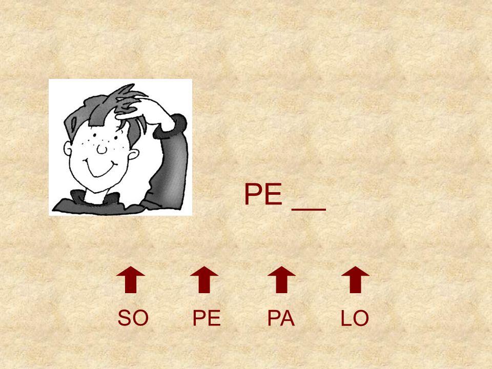 SO PEPA LO __