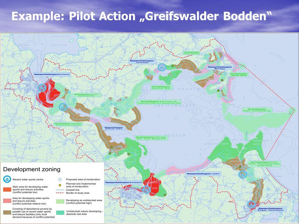 Example: Pilot Action Greifswalder Bodden