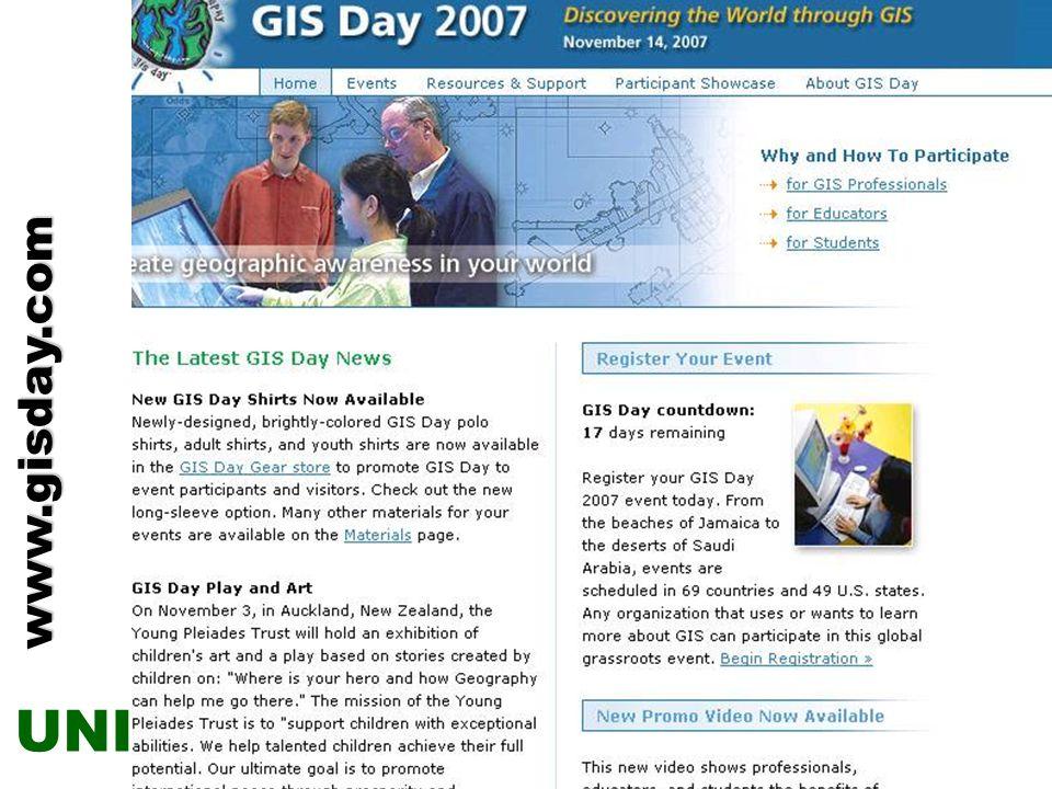 ZENTRUM FÜR GEOINFORMATIK SALZBURG CENTRE FOR GEOINFORMATICS SALZBURG UNI GIS GIS Daywww.gisday.com